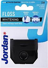 Духи, Парфюмерия, косметика Зубная нить-флосс отбеливающая с ароматом мяты, 25 м - Jordan Whitening Floss