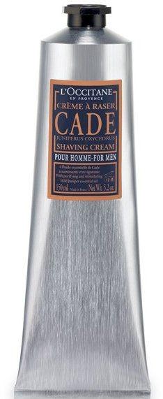 """Крем для бритья """"Можжевельник"""" - L'Occitane Cade Shaving Cream Men — фото N1"""