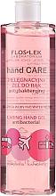 Духи, Парфюмерия, косметика Антибактериальный гель для рук с розой и пионом - Floslek Hand Care Caring Hand Gel