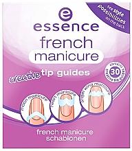 Духи, Парфюмерия, косметика Шаблоны для французского маникюра - Essence French Manicure Creative Tip Guides