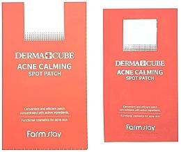 Духи, Парфюмерия, косметика Точечные патчи от прыщей - FarmStay Derma Cube Acne Calming Spot Patch