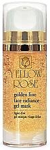Духи, Парфюмерия, косметика Гелевая маска для лица с золотом - Yellow Rose Golden Line Face Radiance Gel Mask