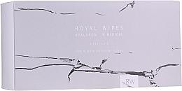 Духи, Парфюмерия, косметика Ухаживающие салфетки для чувствительной кожи лица и тела - N-Medical Hyaluron Royal Silver Care Wipes