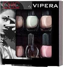 Духи, Парфюмерия, косметика Набор лаков - Vipera Chic (nail/polish/6x5.5ml) (01 - Allure)