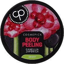 Духи, Парфюмерия, косметика Пилинг-релакс для тела с маслом цветов камелии японской - Cosmepick Body Peeling Camellia Japonica