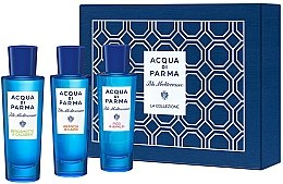 Духи, Парфюмерия, косметика Acqua Di Parma Blu Mediterraneo Arancia Bergamotto Fico Collection Set - Набор (edt/30mlx3)