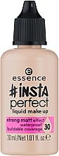 Духи, Парфюмерия, косметика Тональная основа - Essence Insta Perfect Liquid Make Up