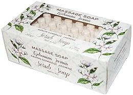 "Духи, Парфюмерия, косметика Мыло-скраб для массажа ""Жасмин"" - Gori 1919 Massage Scrub Soap Jasmin"