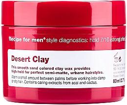 Духи, Парфюмерия, косметика Глина-воск для укладки волос - Recipe for Men Desert Clay Wax