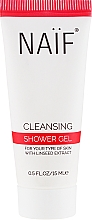Духи, Парфюмерия, косметика Очищающий гель для душа - Naif Cleansing Shower Gel (мини)