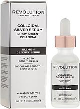 Духи, Парфюмерия, косметика Сыворотка для лица - Revolution Skincare Colloidal Silver Serum