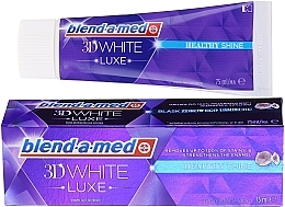 Духи, Парфюмерия, косметика Зубная паста - Blend-a-med 3d White Healthy Shine Toothpaste