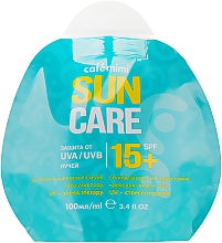 Духи, Парфюмерия, косметика Солнцезащитный водостойкий крем для лица и тела SPF15+ - Cafe Mimi Sun Care