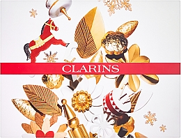 Духи, Парфюмерия, косметика Набор - Clarins Multi-Active Collection (day/cream/50ml + night/cream/15ml+balm/15ml+bag)