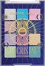 Духи, Парфюмерия, косметика Палетка теней для век - Vivienne Sabo Le Cristal Eyeshadow Palette