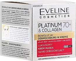 Духи, Парфюмерия, косметика Крем-маска для лица - Eveline Cosmetics Platinum & Collagen Luxury Cream-Mask