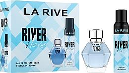 Духи, Парфюмерия, косметика La Rive River Of Love - Набор (edp/100ml + deo/150ml)