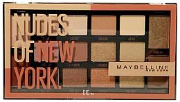 Духи, Парфюмерия, косметика Палетка теней - Maybelline Nudes of New York Eye Palette