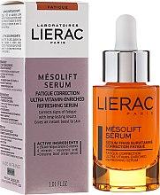 Духи, Парфюмерия, косметика Сыворотка с витаминами против усталости - Lierac Mesolift Serum