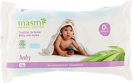 Духи, Парфюмерия, косметика Влажные салфетки детские - Masmi Natural Cotton