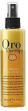 Духи, Парфюмерия, косметика Восстанавливающий двухфазный спрей-кондиционер с кератином - Fanola Oro Therapy