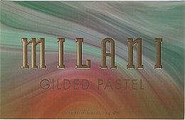 Духи, Парфюмерия, косметика Палетка теней для век - Milani Gilded Eyeshadow Palette