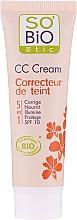 Духи, Парфюмерия, косметика CC-крем, 5в1 SPF 10 - So'Bio Etic CC Cream