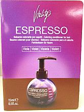 Бальзам с окрашивающим эффектом - Vitality's Art Espresso Coloring Conditioner For Hair (пробник) — фото N3