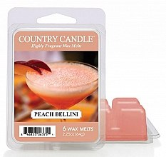 Духи, Парфюмерия, косметика Воск для аромалампы - Country Candle Peach Bellini Wax Melts