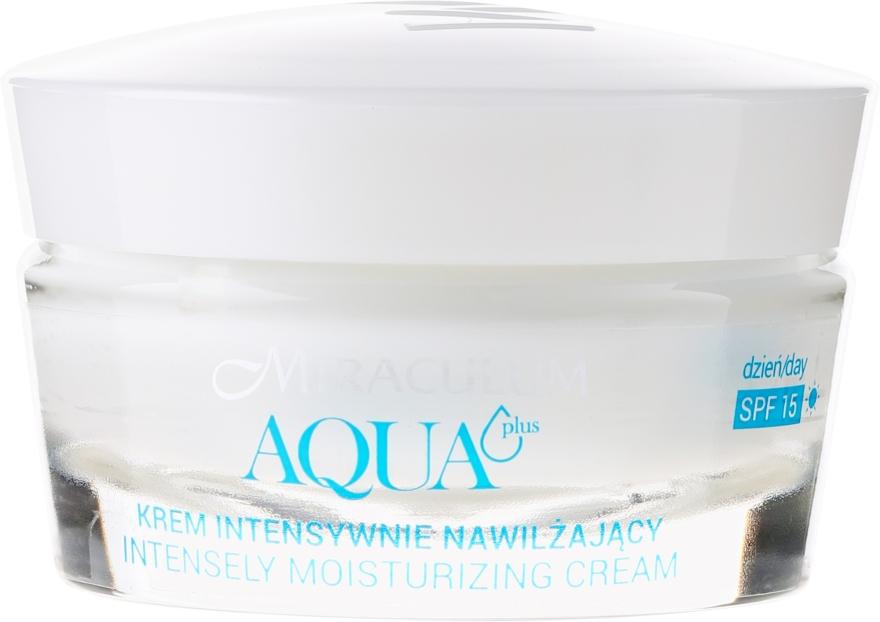 Дневной крем интенсивно увлажняющий от морщин - Miraculum Aqua Plus SPF 15 — фото N2