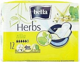 Духи, Парфюмерия, косметика Прокладки Panty Herbs Tilia, 12шт - Bella