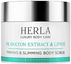 Духи, Парфюмерия, косметика Скраб для тела - Herla Luxury Body Care Plankton Extract & Lipids Firming & Slimming Body Scrub