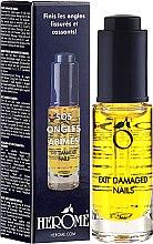 Духи, Парфюмерия, косметика Масло для интенсивного ухода за ногтями - Herome Exit Damaged Nails