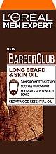 Духи, Парфюмерия, косметика Масло для ухода за бородой и кожей лица - L'Oreal Paris Men Expert Barber Club Long Beard + Skin Oil