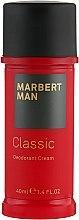 Духи, Парфюмерия, косметика Дезодорант-крем - Marbert Man Classic Deodorant Cream