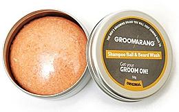 Духи, Парфюмерия, косметика Твердый шампунь для бороды - Groomarang Shampoo Ball & Beard Wash