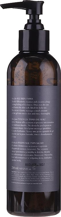Набор - Clochee Men Facial & Body Skin Care Set (f/cr/50ml + show/gel/250ml + bag) — фото N7