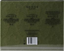 Gucci Bloom - Набор (edp/100ml +b/lotion/100ml + edp/7.4ml) — фото N2