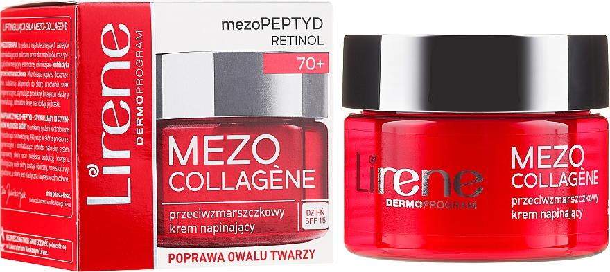 Дневной крем против морщин - Lirene Mezo Collagene SPF 15 — фото N1