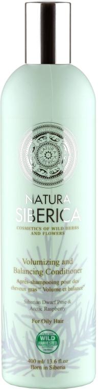"""Бальзам для придания объема для жирных волос """"Объем и баланс"""" - Natura Siberica — фото N1"""