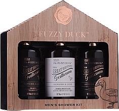 Духи, Парфюмерия, косметика Набор - Baylis & Harding Men's Fuzzy Duck Ginger & Lime Lixury Grooming Gift Set (ash/balm/300ml+shm/300ml+sh/gel/300ml)