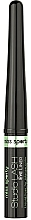 Духи, Парфюмерия, косметика Жидкая подводка для глаз - Miss Sporty Studio Lash Liq Eyeliner