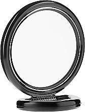 Духи, Парфюмерия, косметика Зеркало двустороннее круглое на подставке, 12 см, 9504, черное - Donegal Mirror