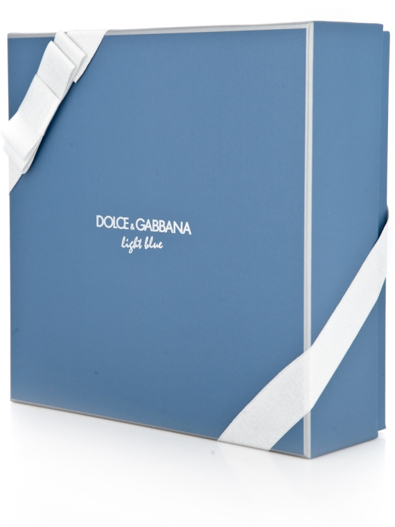 Dolce & Gabbana Light Blue pour Homme - Набор (edt 125 + sh/g 50 + a/sh balm 75) — фото N4