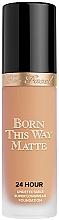 Духи, Парфюмерия, косметика Тональная основа - Too Faced Born This Way Matte 24-Hour Foundation
