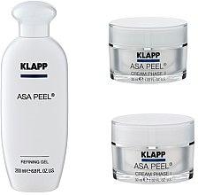 Духи, Парфюмерия, косметика Набор - Klapp ASA Peel Home Cure Pack (gel/200ml + f/cr/30ml + f/cr/30ml)