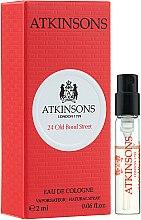 Духи, Парфюмерия, косметика Atkinsons 24 Old Bond Street - Одеколон (пробник)