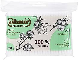 Духи, Парфюмерия, косметика Ватные палочки, 160 шт - Cashmir Natural Cotton Buds