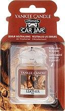 Духи, Парфюмерия, косметика Ароматизатор для автомобиля - Yankee Candle Car Jar Ultimate Leather