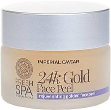 Духи, Парфюмерия, косметика Золотой пилинг для лица - Natura Siberica Fresh Spa Imperial Caviar Rejuvenating Golden Face Peel 24K Gold